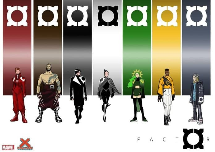 Marvel's X-factor gets a new look