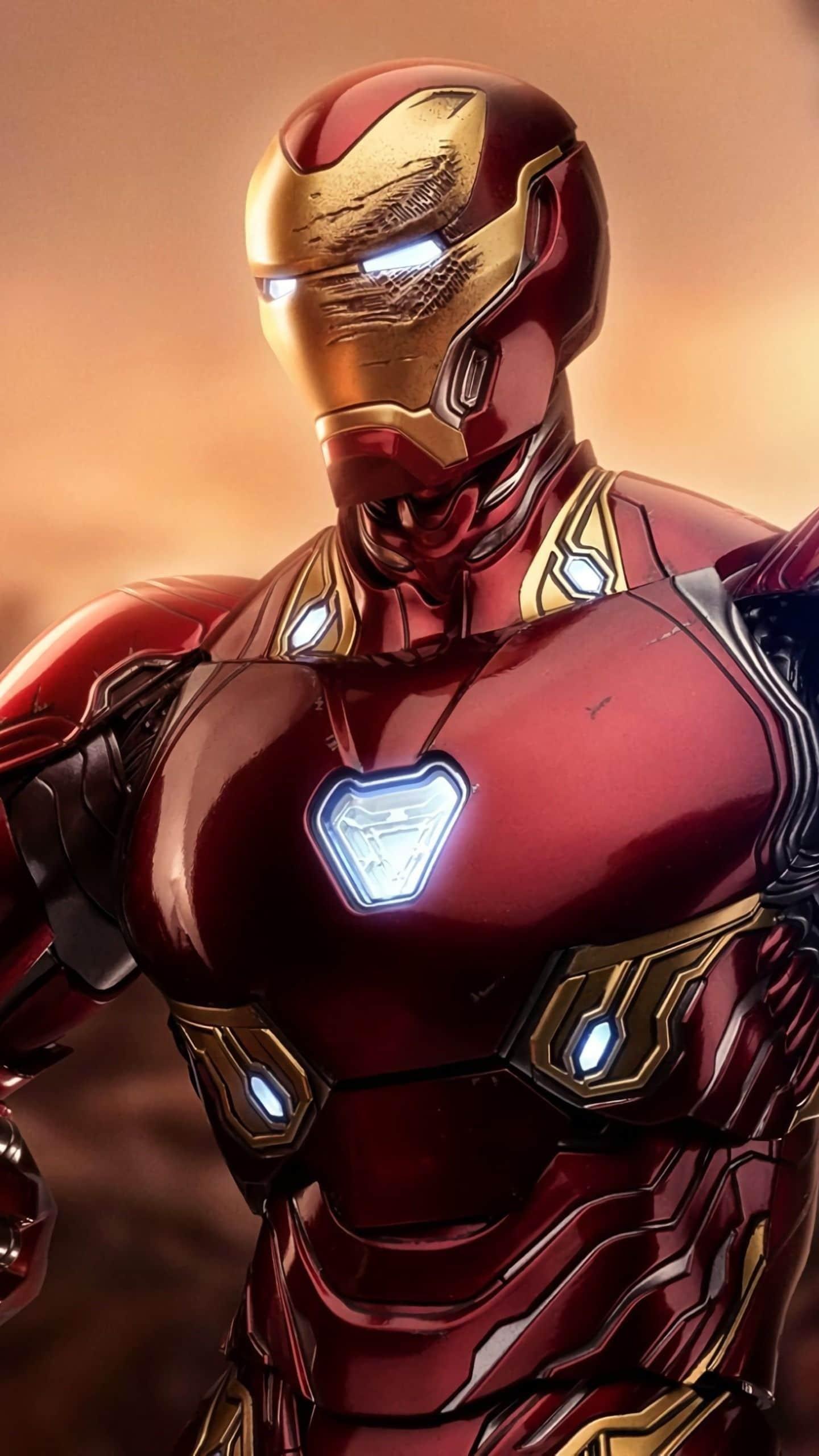 The famous Iron Man suit