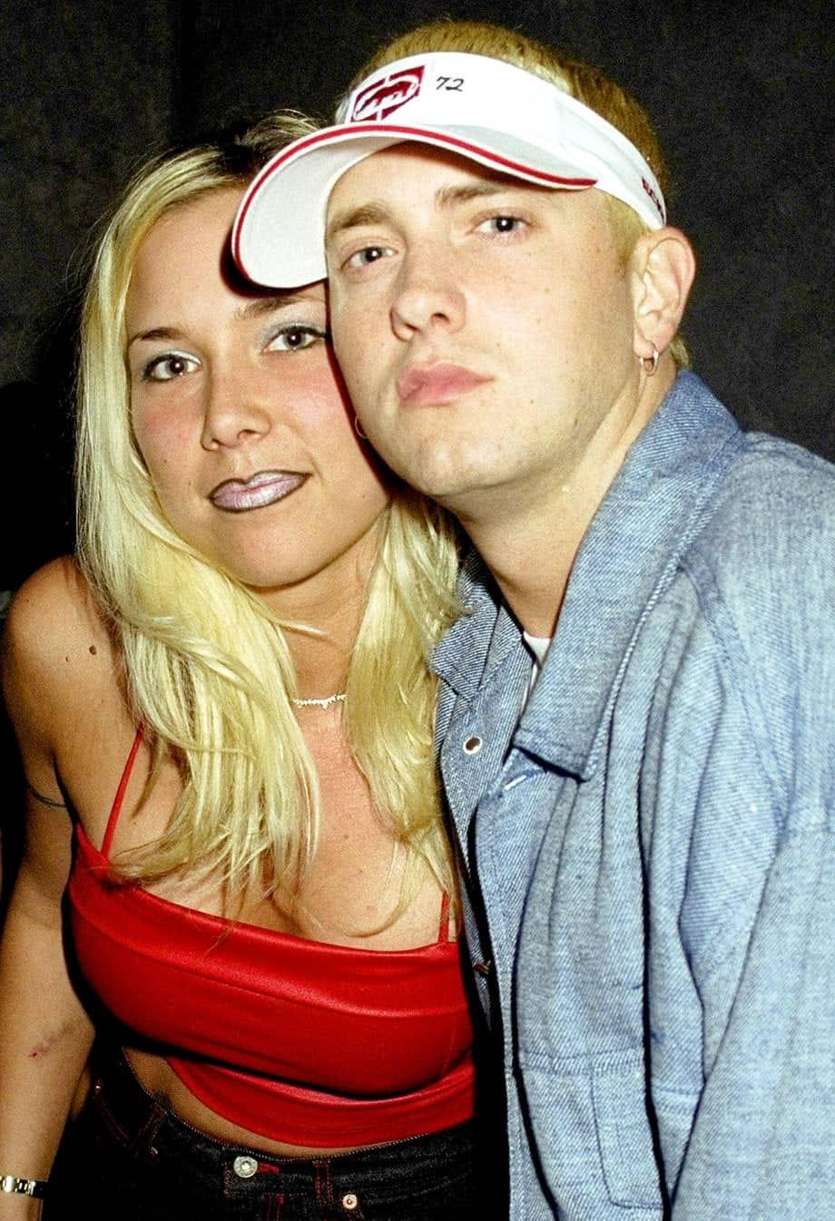 Eminem with Kimberly