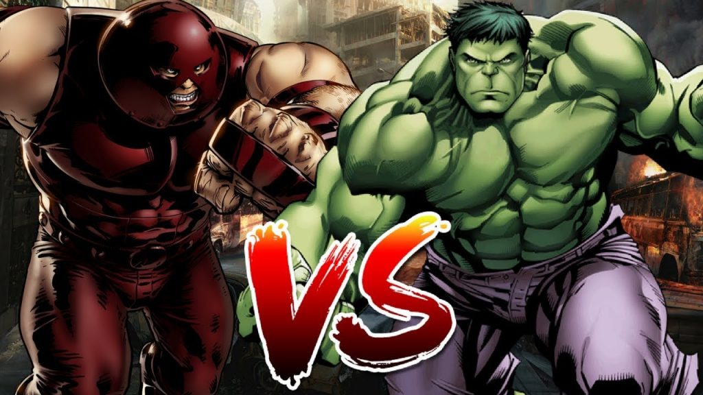 Can Juggernaut beat the Hulk?