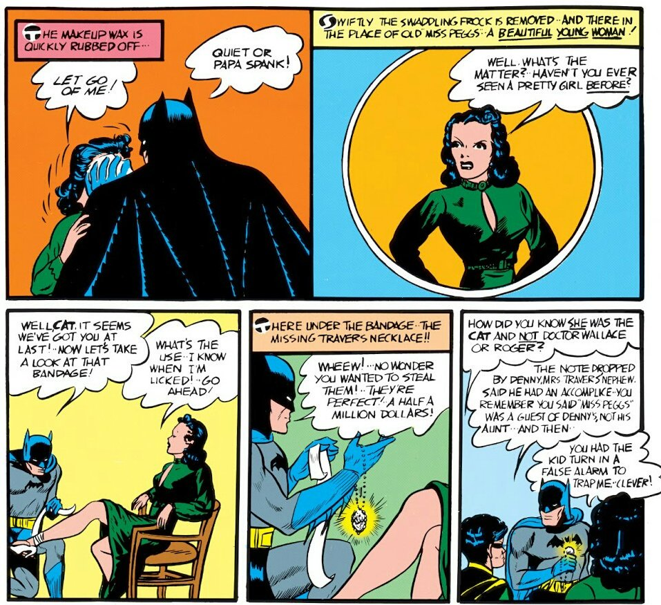 One of the bizarre Batman's Line EVER Was Just For Catwoman