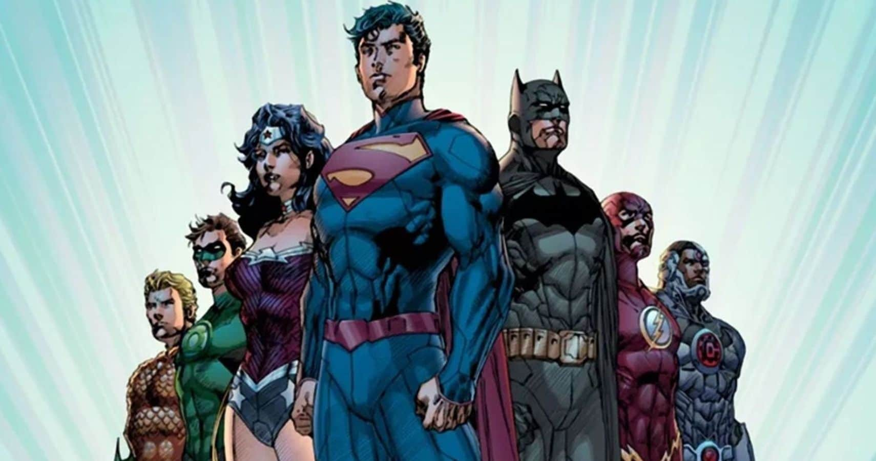 The various DC's New 52 characters