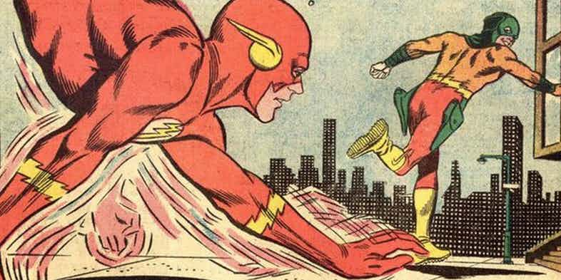 The Flash was compelled to use his Hands