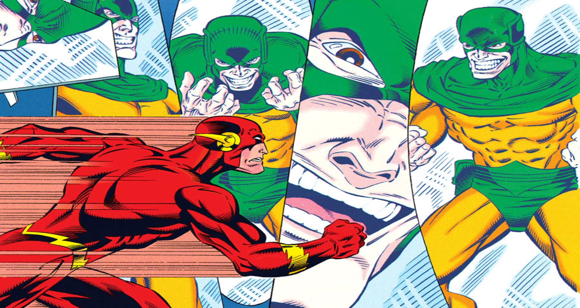 Alert:Speedy Legs of The Flash are Switched with One and Only...