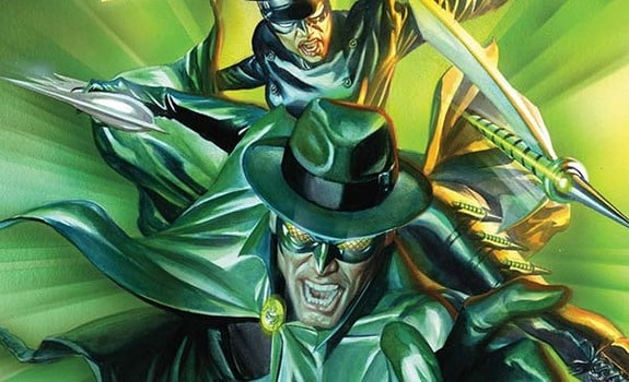 The Green Hornet to mark the 10th anniversary of Dynamite