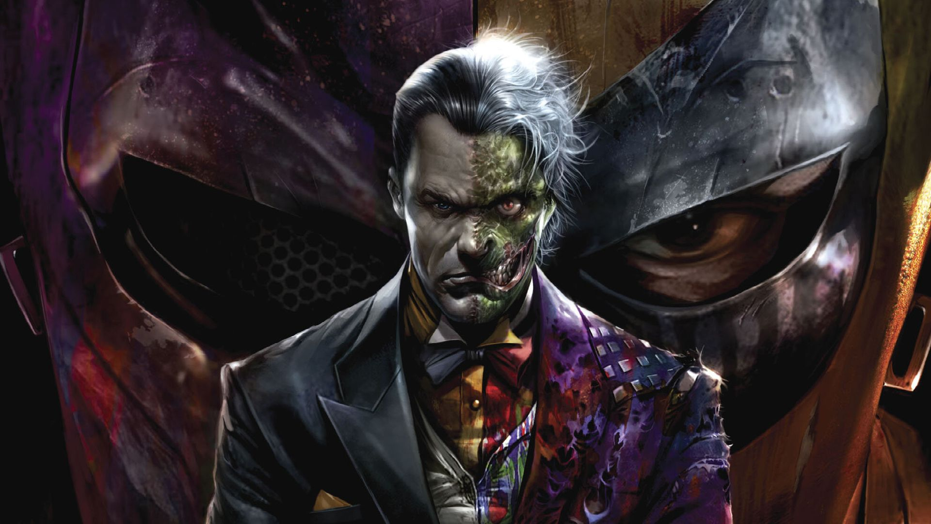 Batman: Two-Face Became Gotham's City New Dangerous Game !!