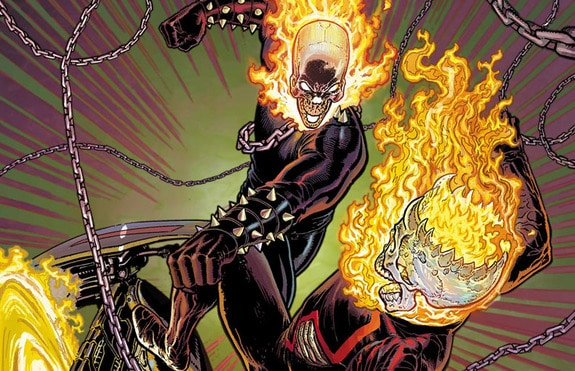 Who would be Upcoming Ghost Rider?