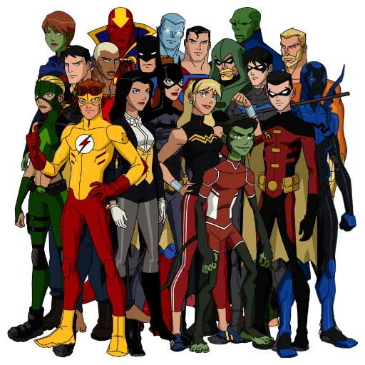 The Teen Heroes: The Teenage Justice League