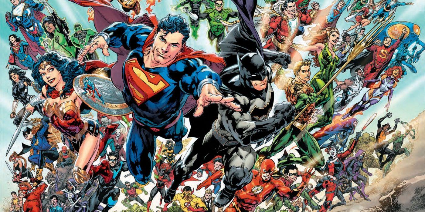 Different DC Comics characters