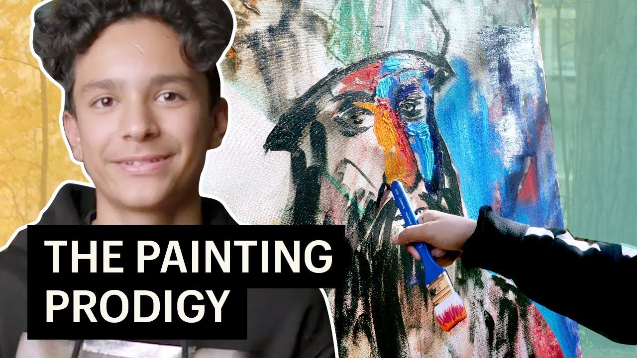 Teenager of the Philanthropic Mindset is Upcoming Picasso Artist