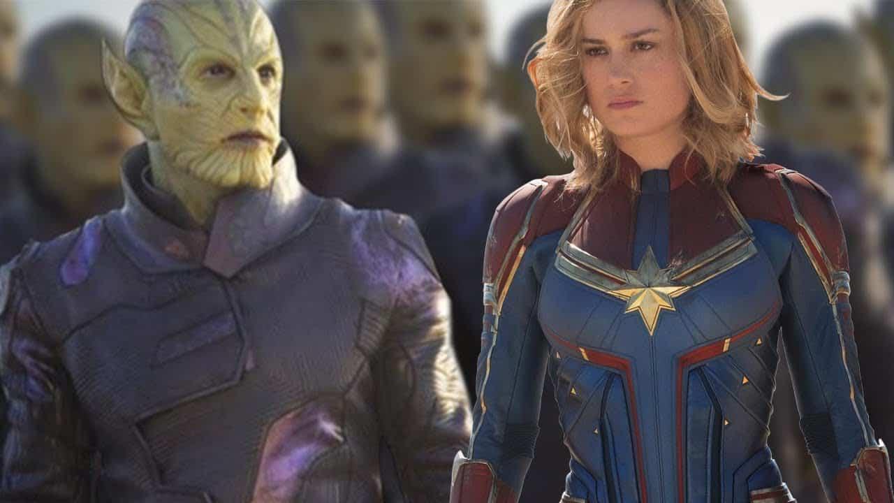 Alternate Design of The Skrulls reveals their Scary side