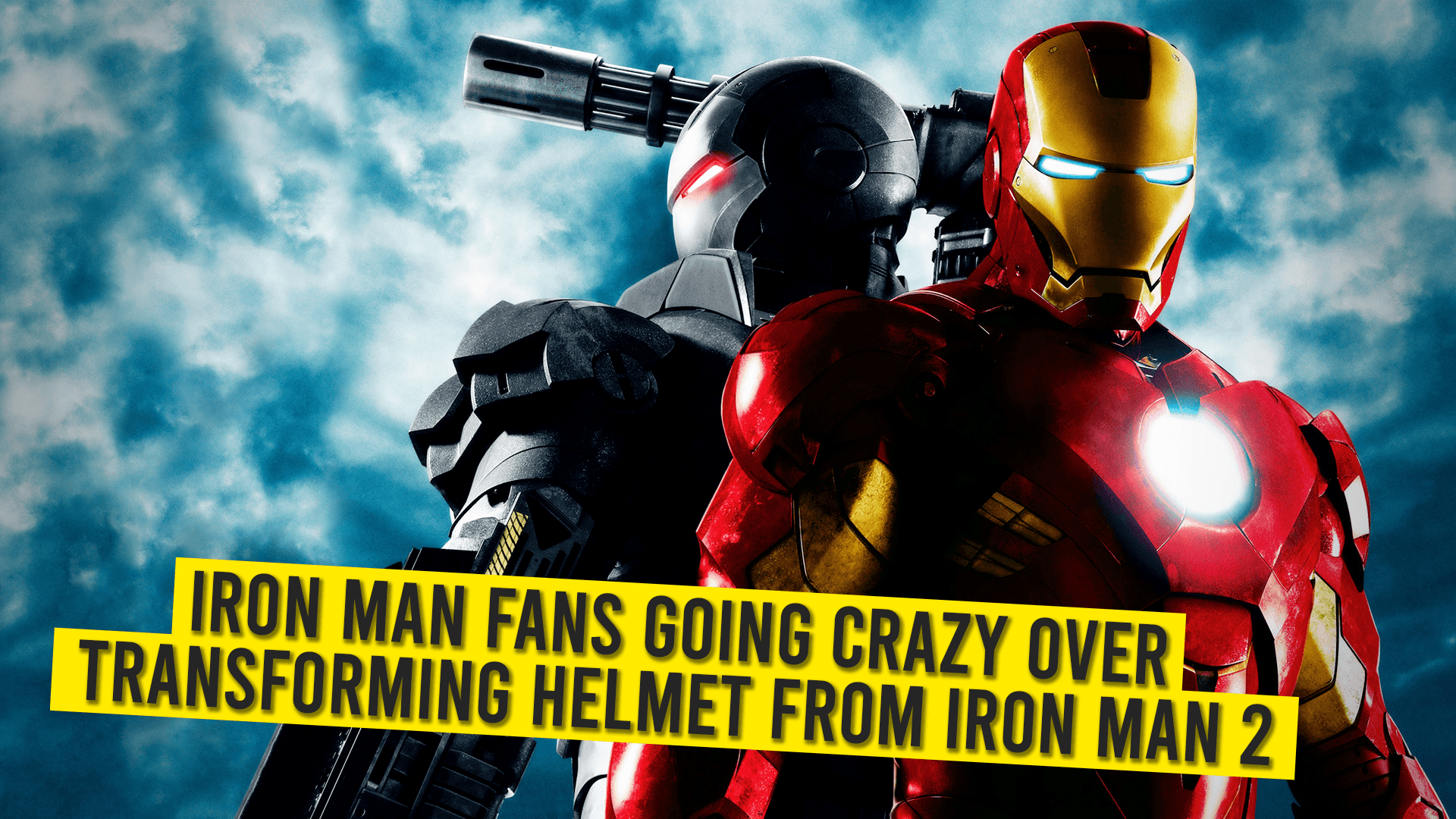 Iron Man Fans Going Crazy Over Transforming Helmet From Iron Man 2
