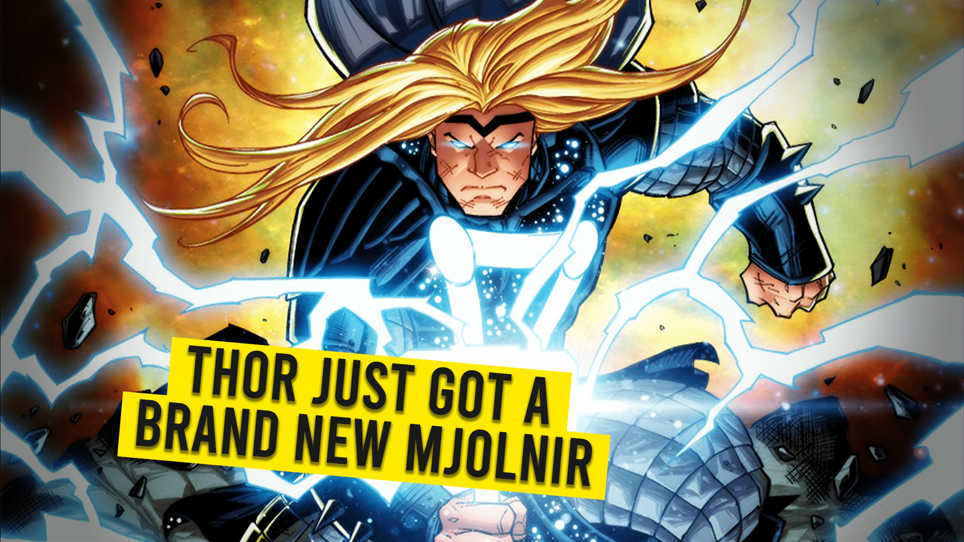 Thor Just Got A Brand New Mjolnir