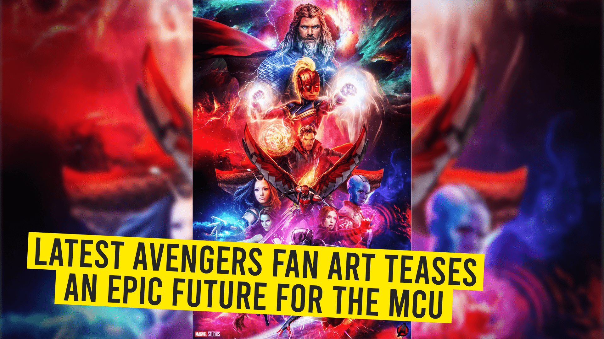 Latest Avengers Fan Art Teases an Epic Future for the MCU