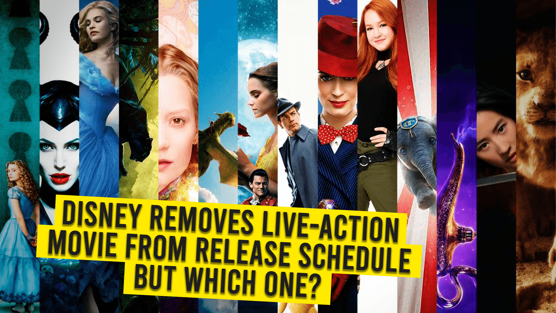 Disney Removes Live-Action Movie from Release Schedule – But Which One?