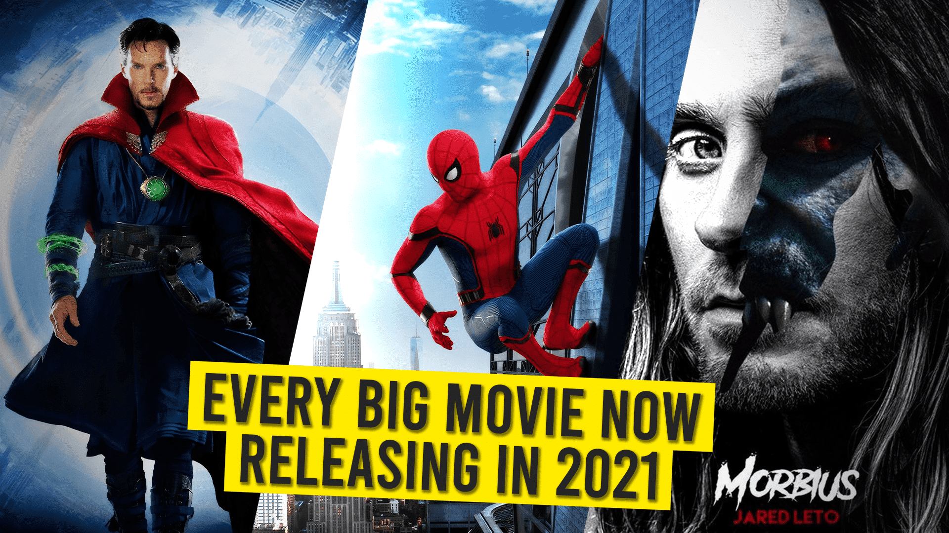 Big movies coming in 2021