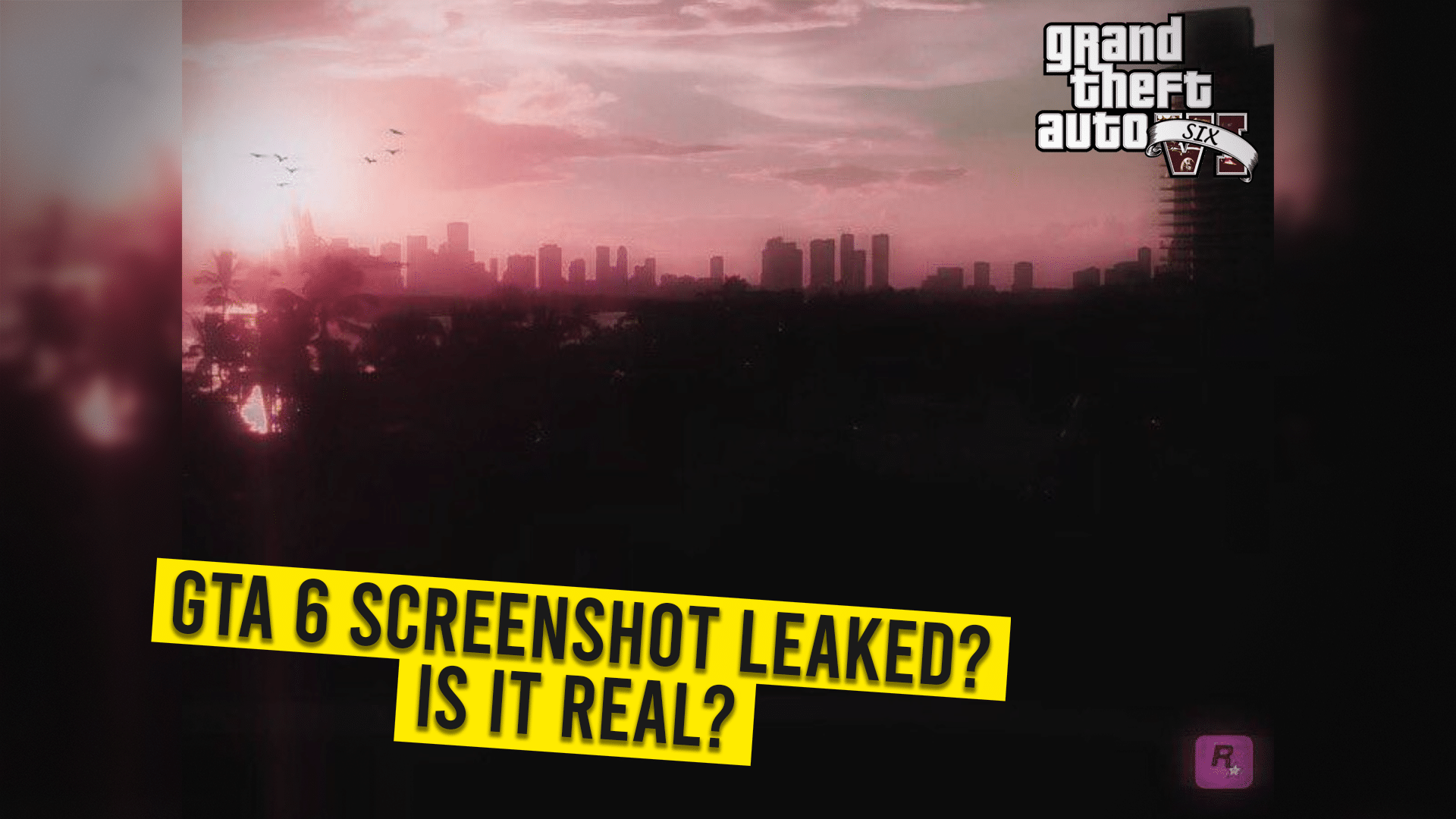 alleged GTA 6's screenshot