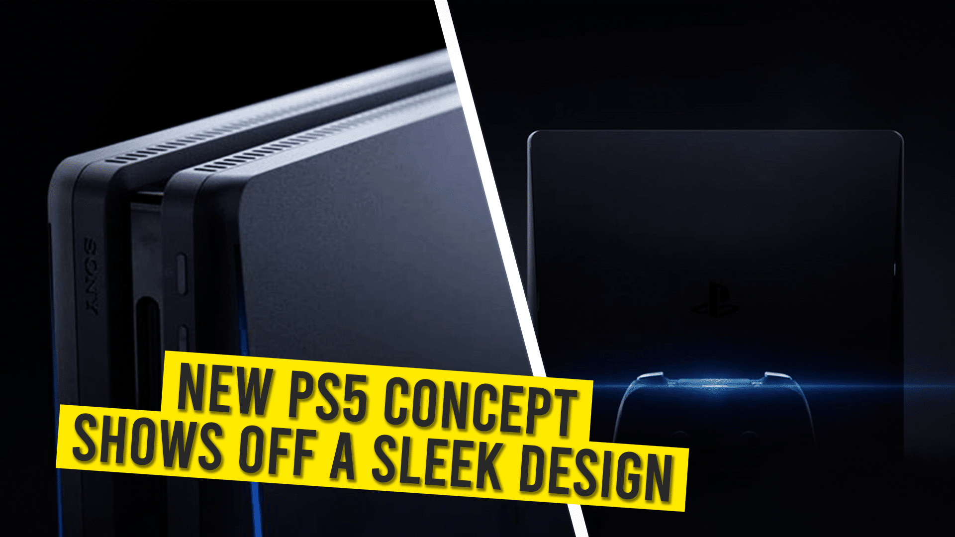 Concept design of upcoming PS5