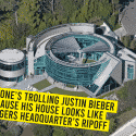 Everyone's taking a dig at Justin Bieber as His abode Looks Like 'Sasta' Avengers Head