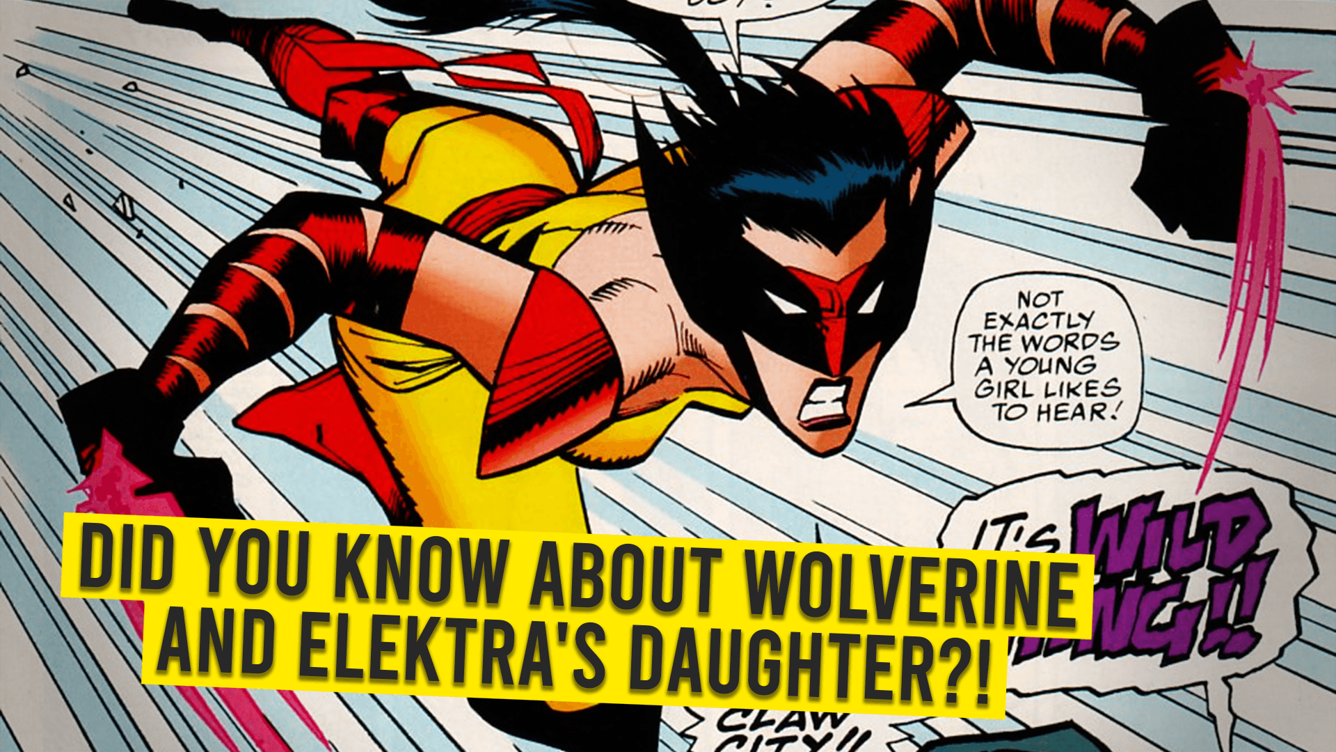Wolverine's Daughter