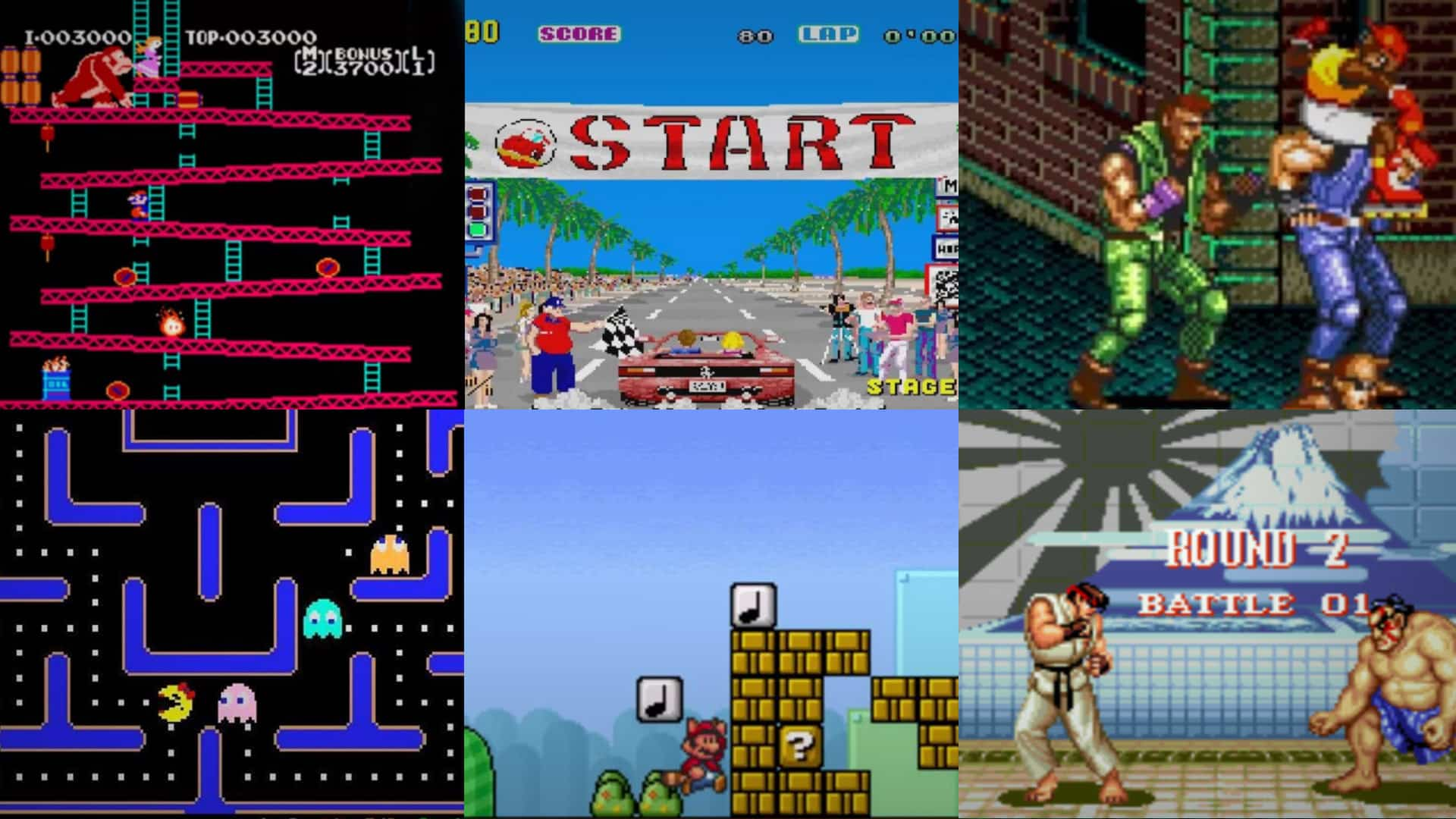 Famous Retro Games