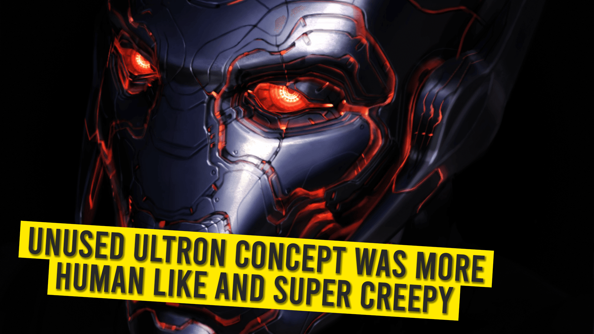 Unused Ultron Concept