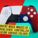 Fans Invent Mock Images of PS5's 'DualSense' Controller Showcasing Various Colors!