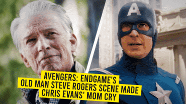 Avengers: Endgame's Old Man Rogers Made Chris Evans' Mom Burst Into Tears