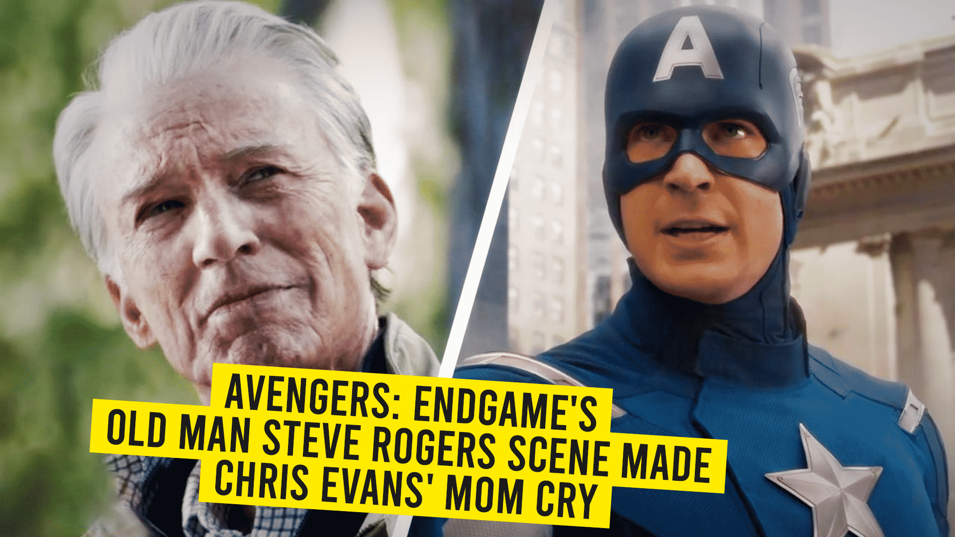 Avengers: Endgame's Old Man Rogers Made Chris Evans' Mom Burst Into Tears