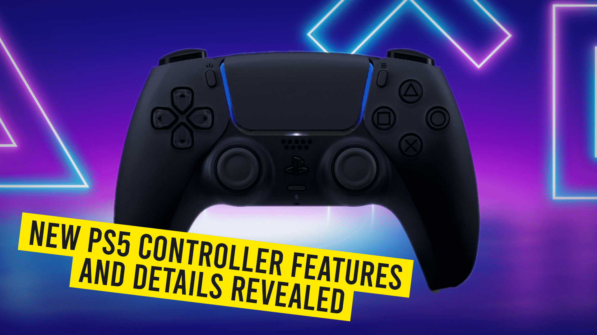 New PS5 Controller Revealed