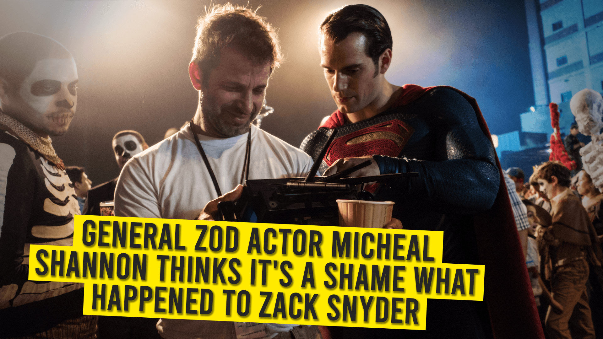 General Zod Actor Micheal Shannon Thinks It's A Shame What Happened To Zack Snyder