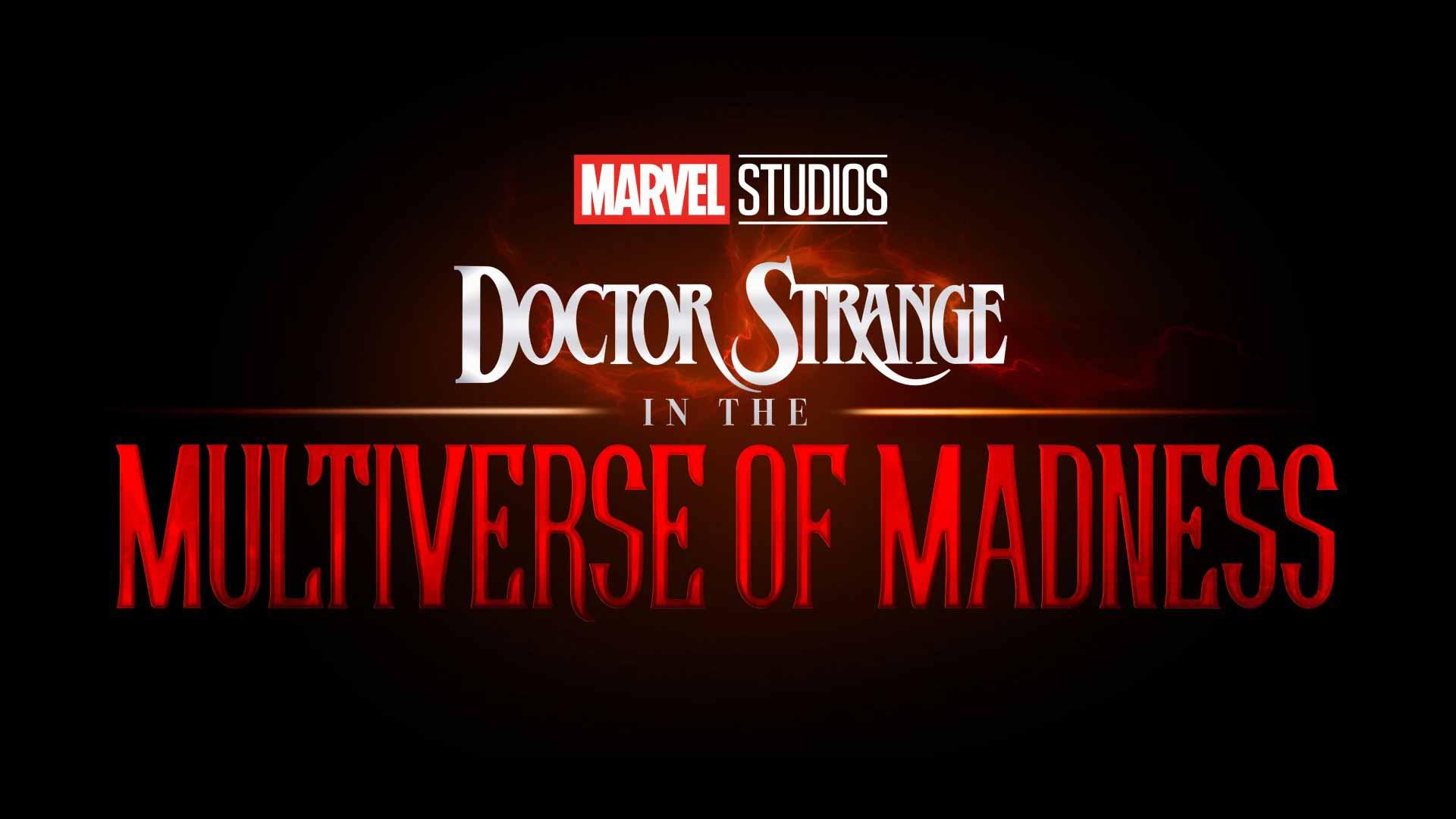 Doctor strange 2 marvel black logo