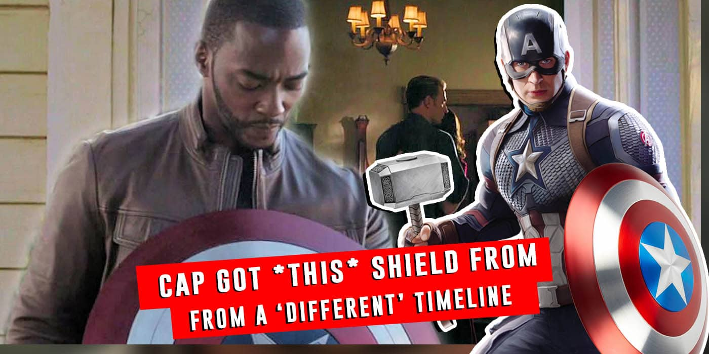 Endgame Theory Captain America's Repaired Sheild Proves He 'Changed Timelines' (1)