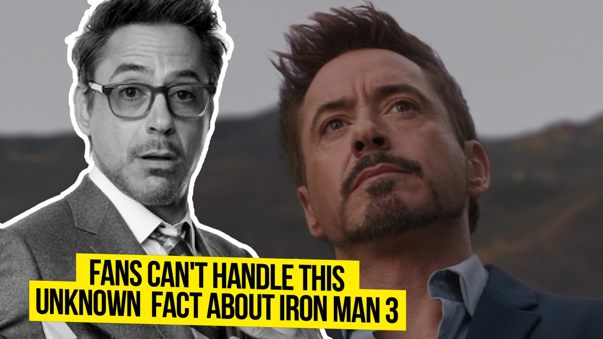 Little known fact about iron man movie