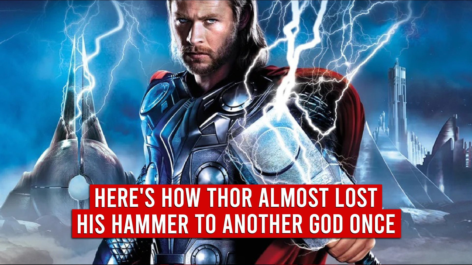 Thor Lost Hammer To Another God