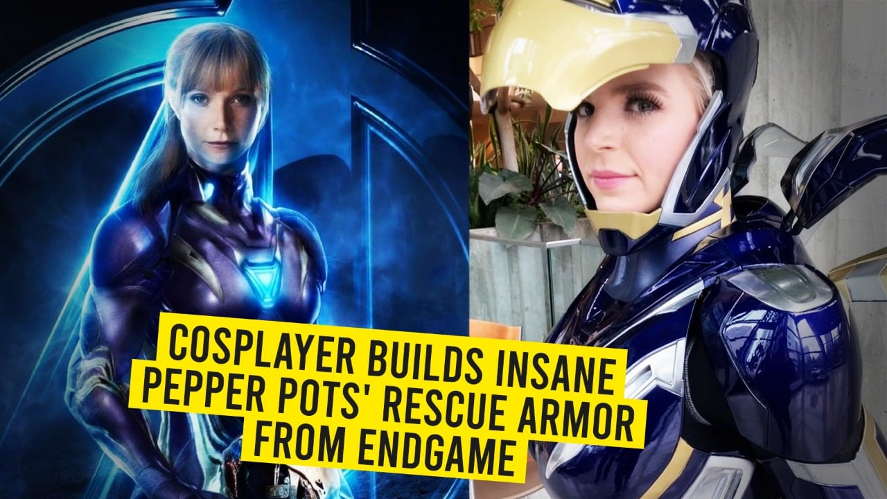 Cosplayer Builds Insane Pepper Pots' Rescue Armor From Endgame