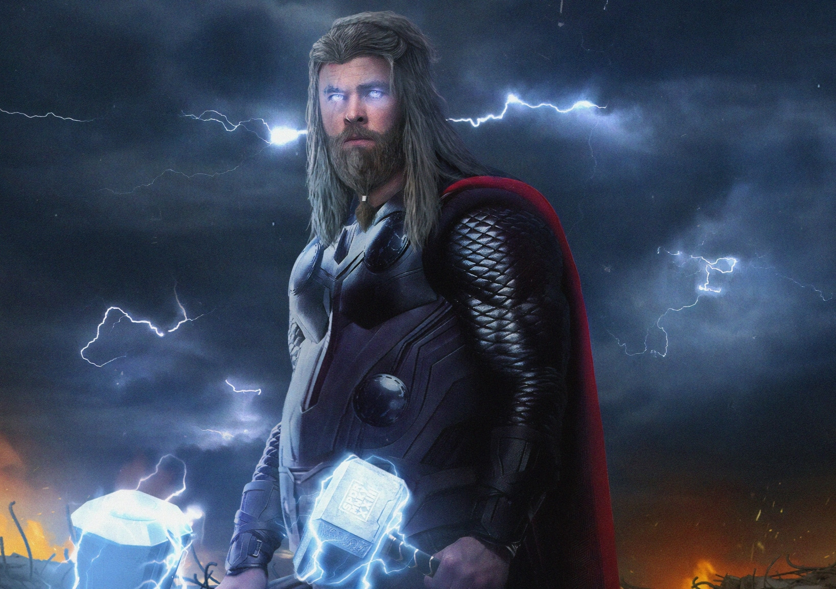 Fat Thor in Endgame