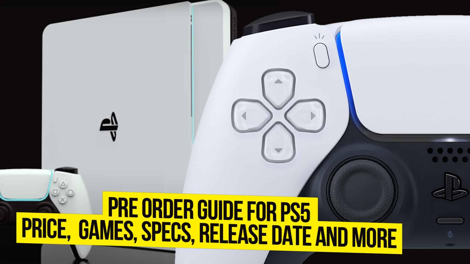 PS5 Pre-Order Guide