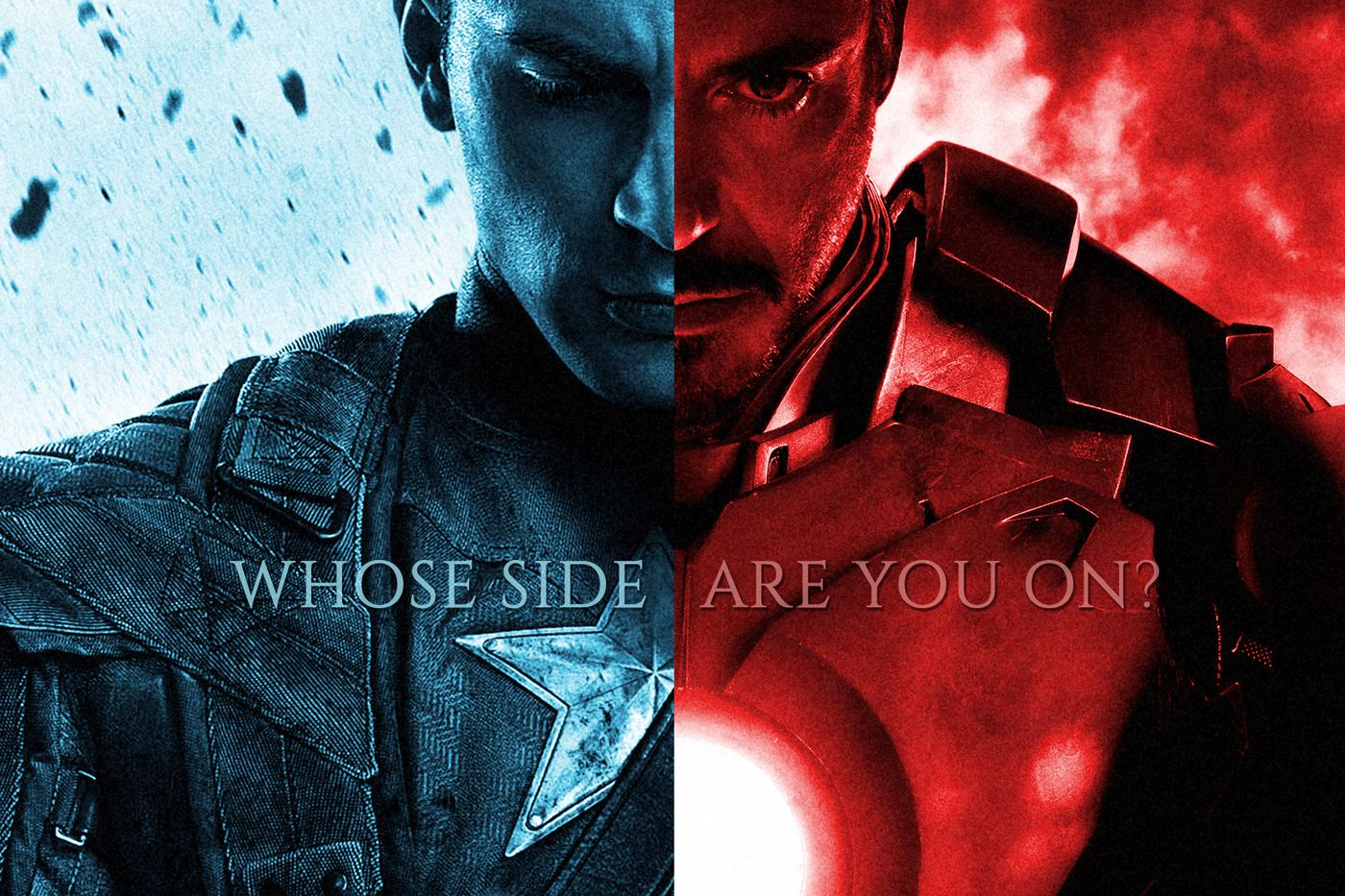 Iron Man vs Captain America