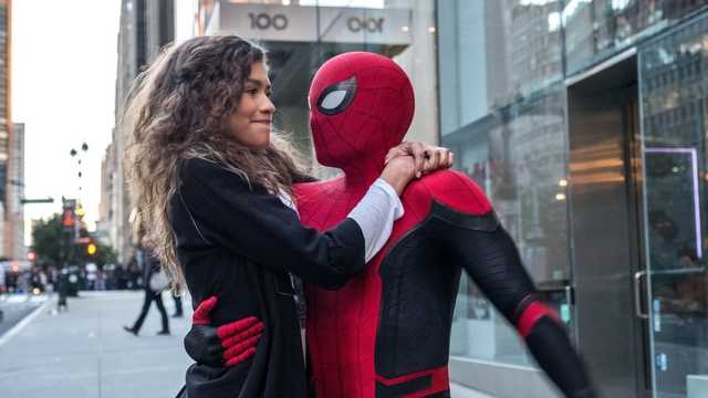 spiderman and zendaya