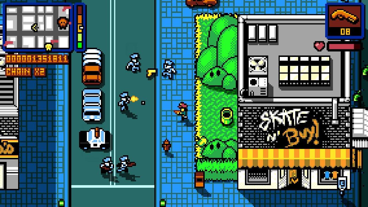 Retro City Rampage game