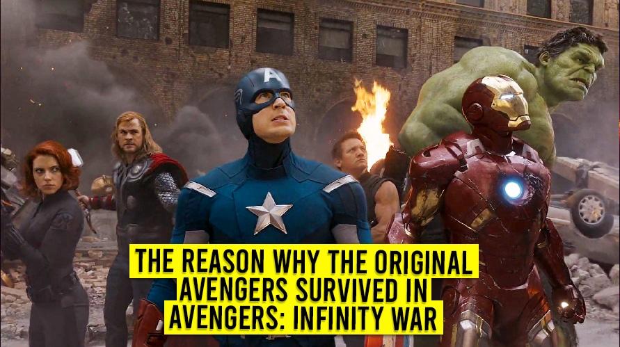 The original 6 avengers