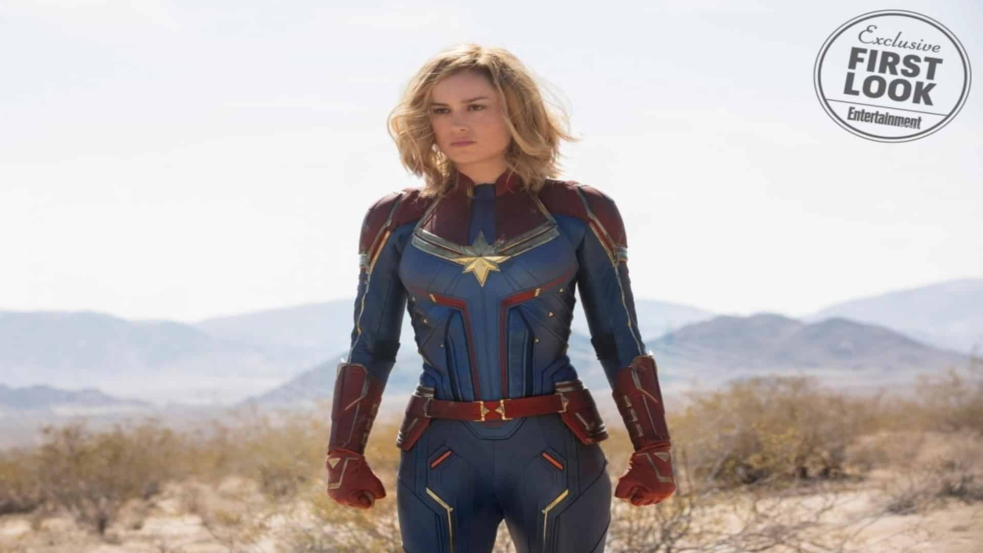 Captain Marvel's new design look