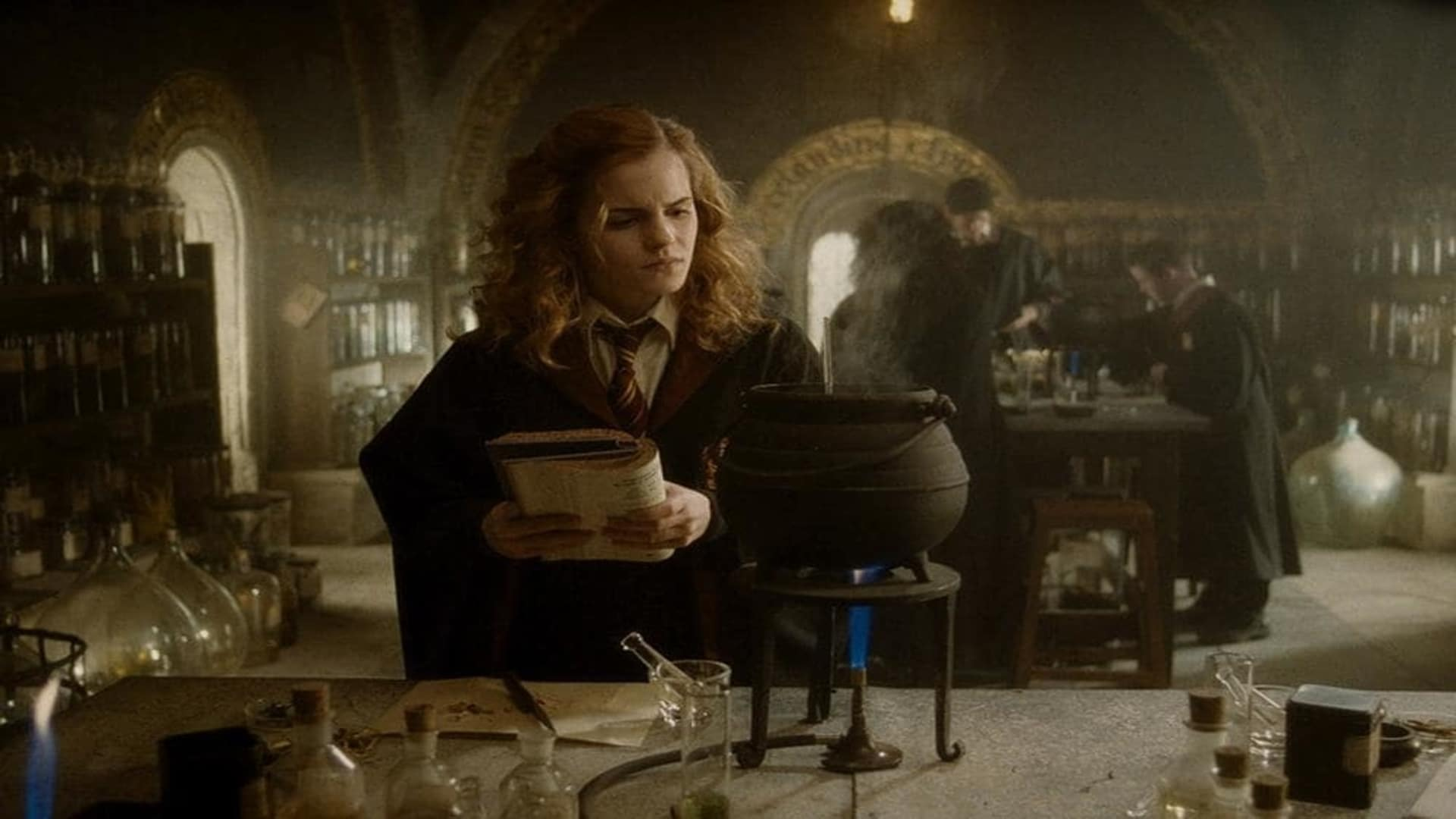 The way how potions have been used in Harry Potter