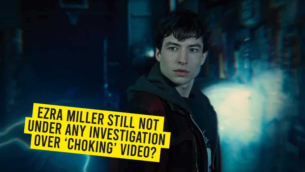 "A Suspicious Video of Ezra Miller Choking a Fan Goes Viral, Police Says ""No Investigation"" !!"