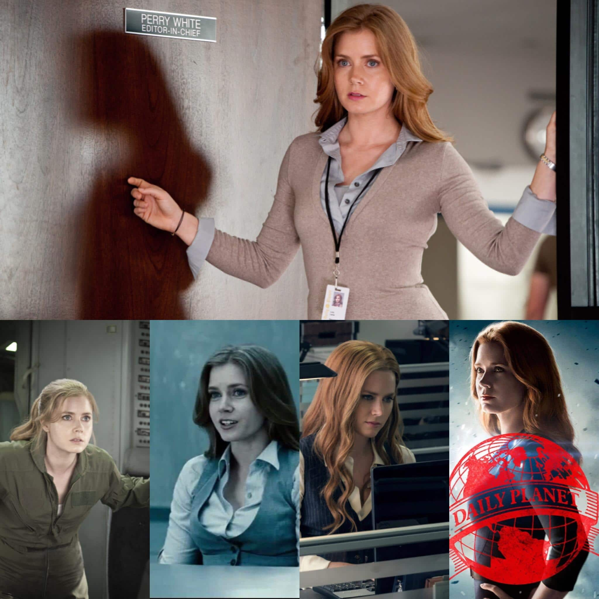 Amy Adams: Shown playing a major character in DC