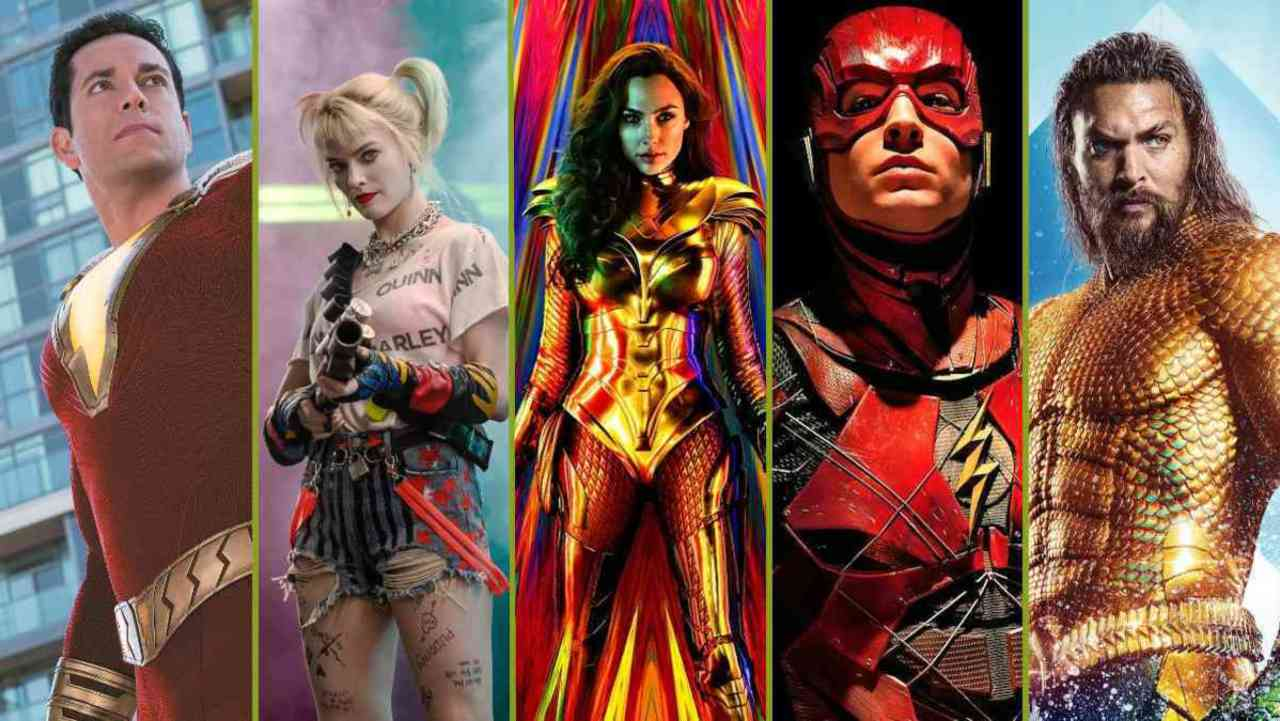 Posters of DC movie whose release dates got reshuffled.