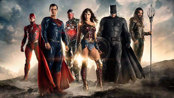 Most of the Justice League worked from home.