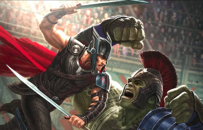 Hulk vs Thor in Strength
