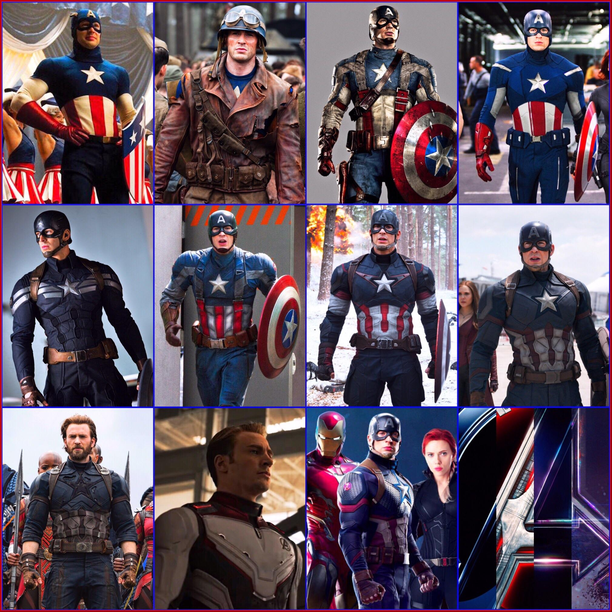Is it true that Coolest Costume of Captain America Never Made It To The Movies?